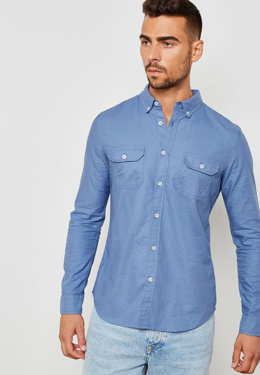 Oxford Two Pocket Shirt