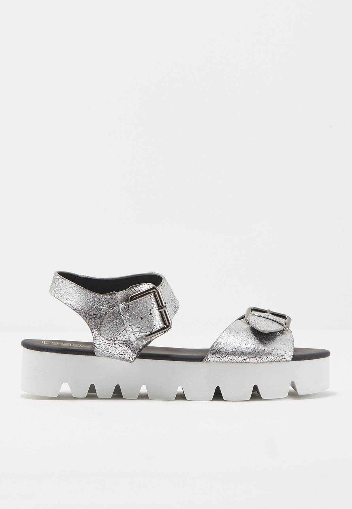 Maxi Buckle With Track Sole