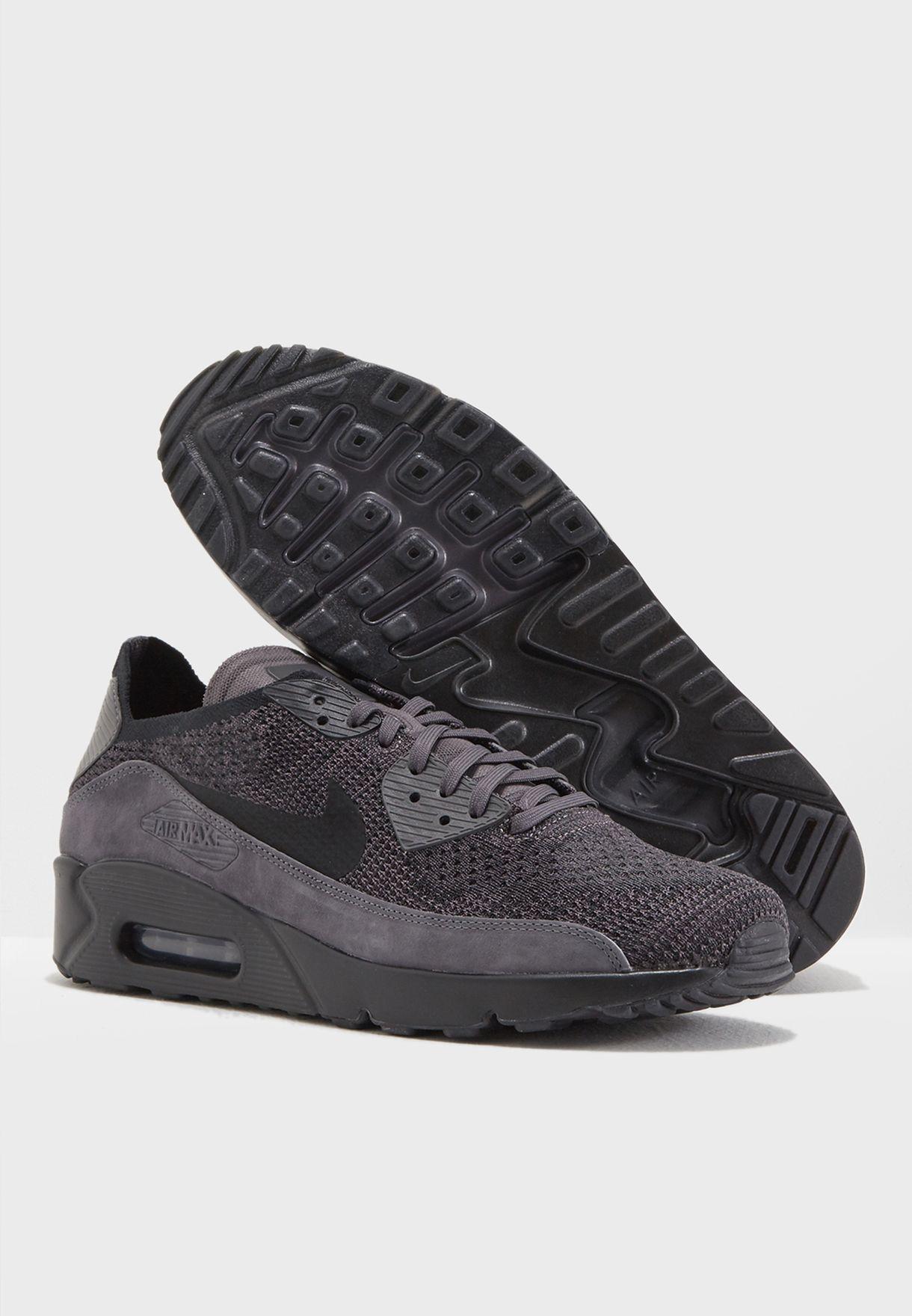 Shop Nike black Air Max 90 Ultra 2.0 Flyknit 875943-008 for Men in ... f1efb3efef3