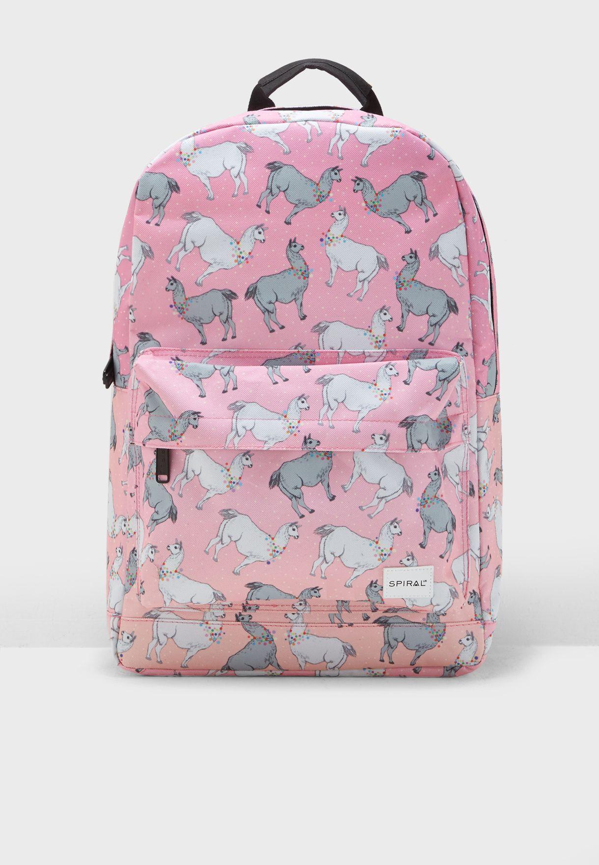 Llama Land Backpack