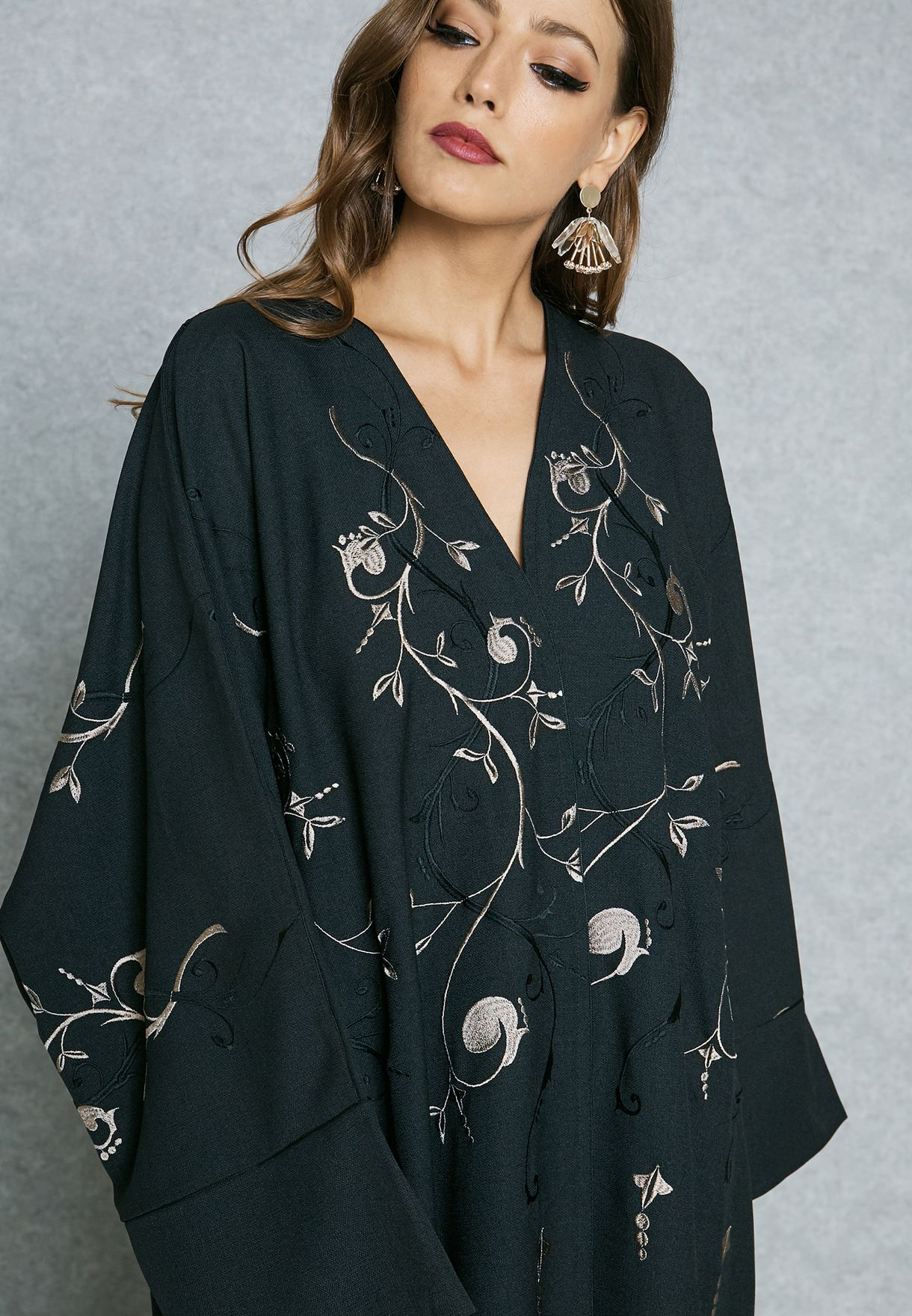 Embroidered Top Bisht