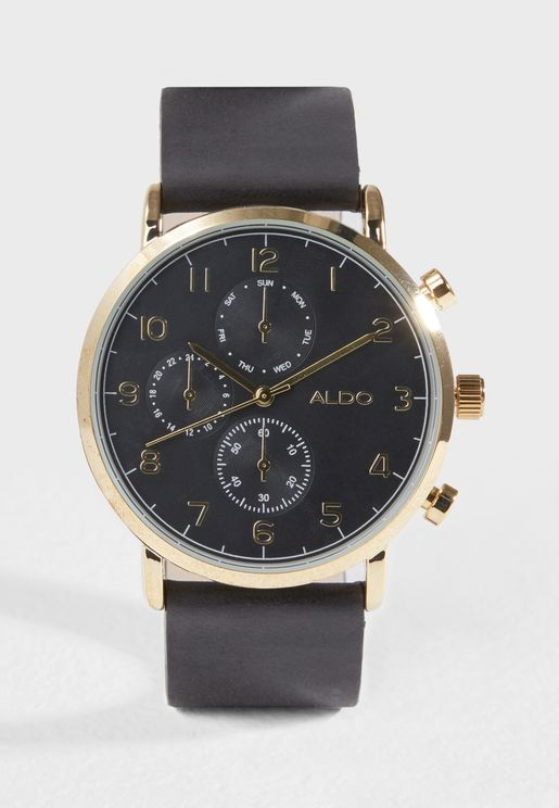 Gwareni Analog Watch