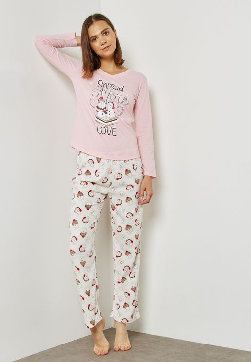 Spread Love Pyjama Set