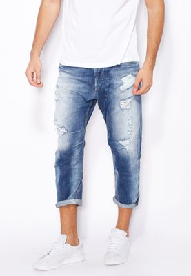 Diesel Narrot Light Wash Tapered Jeans