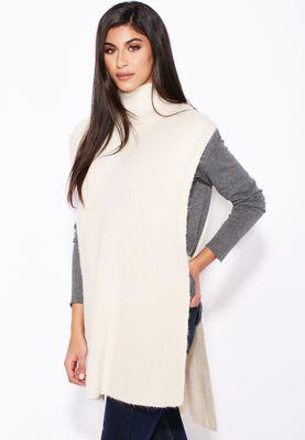 MANGO Knitted Longline Cardigan