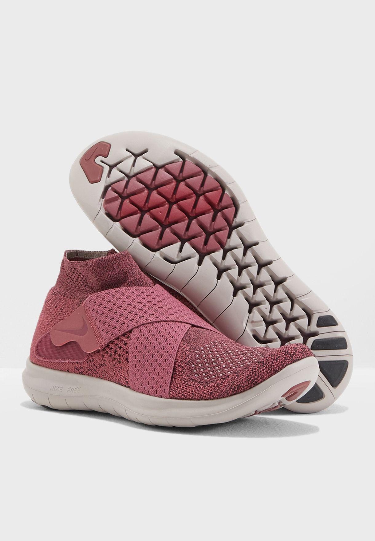 5538e7fc54ed Shop Nike pink Free RN Motion FK 2017 880846-602 for Women in UAE ...