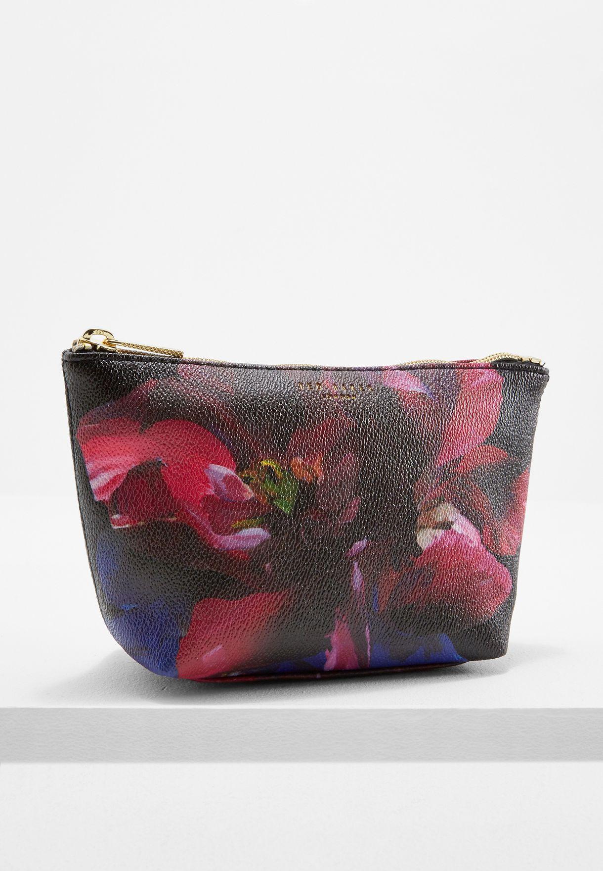 e33421969 Shop Ted baker prints Impressionist Bloom Makeup Bag GG49 LEAA for ...