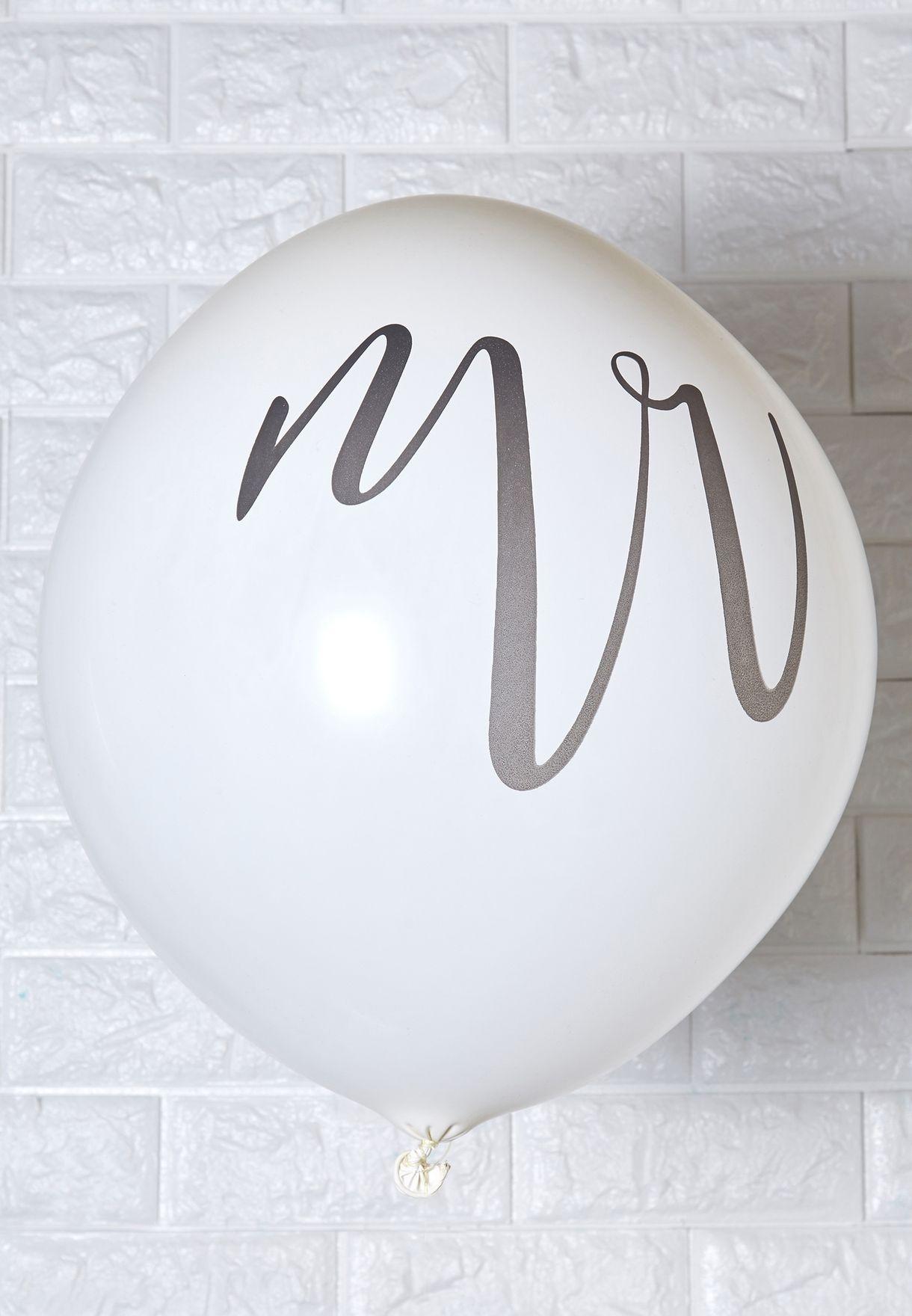 """36"""" Mr & Mrs Balloon"""