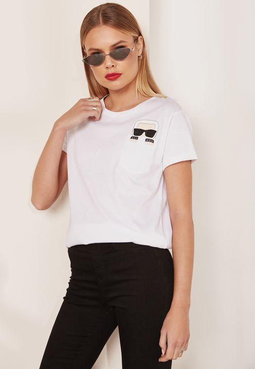 Ikonic Pocket Detail T-Shirt