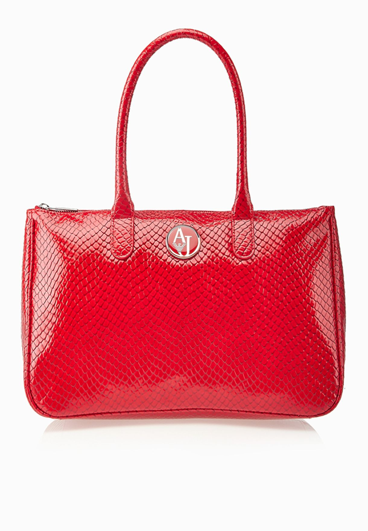 Shop Armani Jeans red Metallic Shopper AW22D.V3 for Women in Kuwait -  AR030AC79YME a89df370261e1