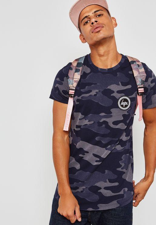 Laser Camo T-Shirt