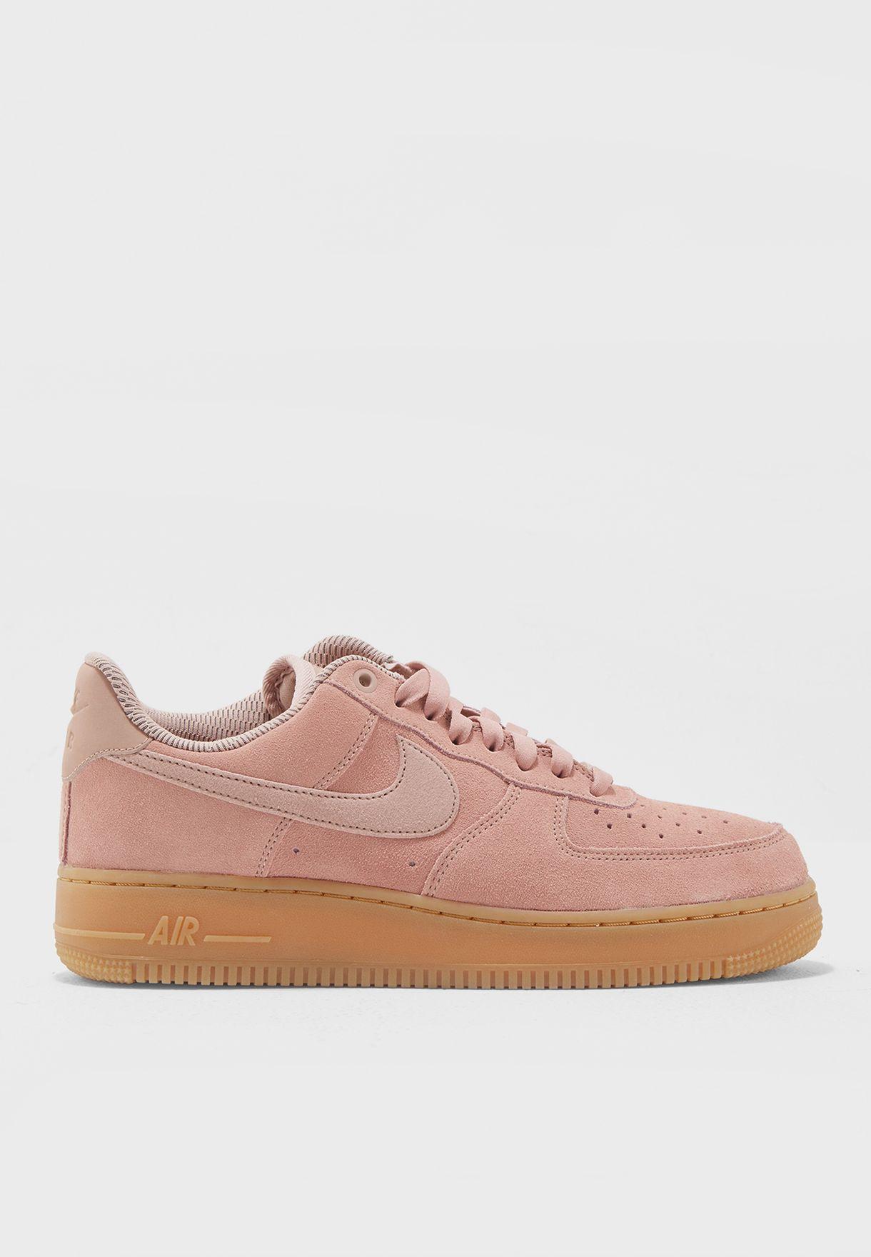 Buy Nike pink Air Force 1 \u0026#39;07 SE
