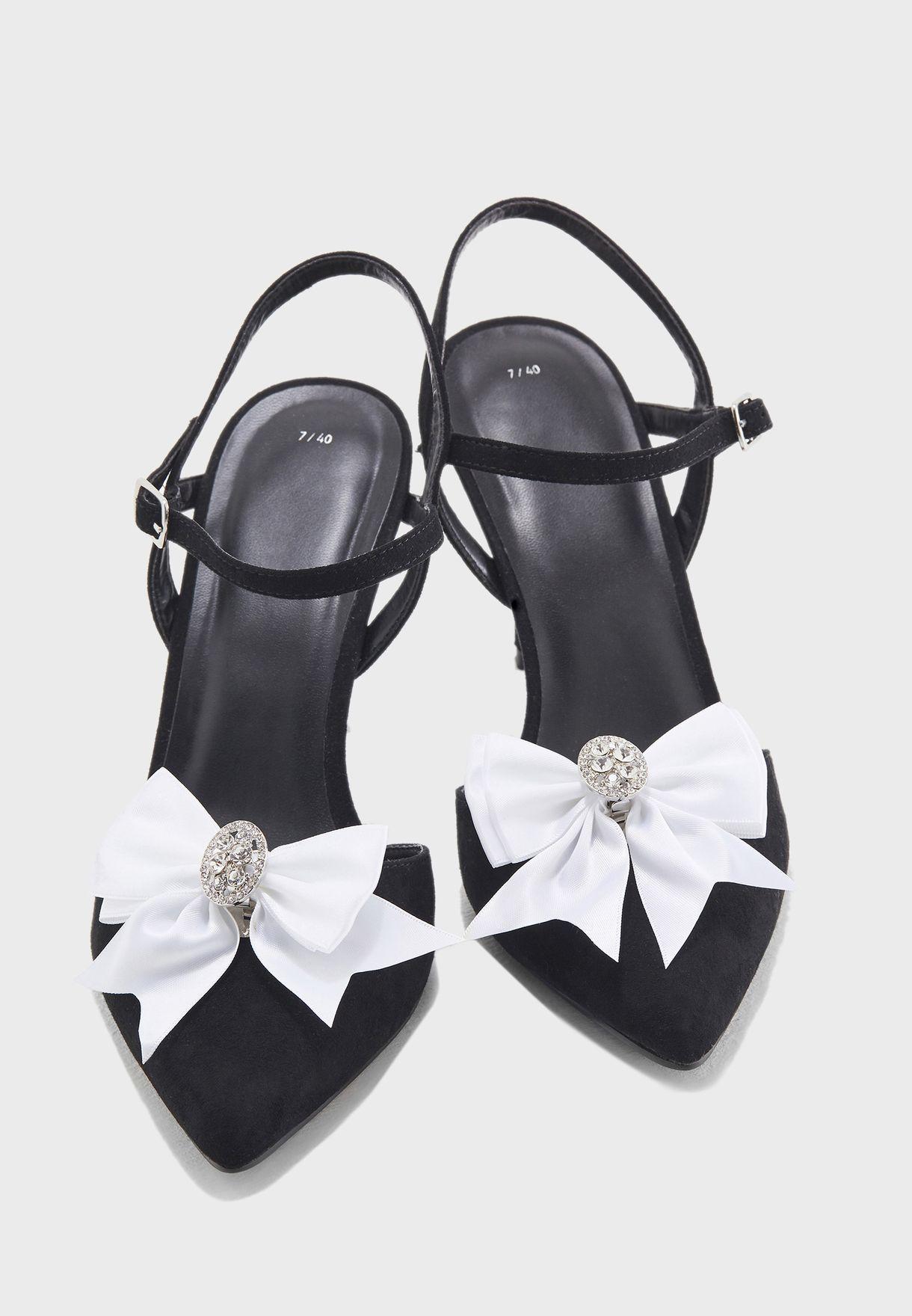 مشبك عشكل فيونكة لتزيين الحذاء