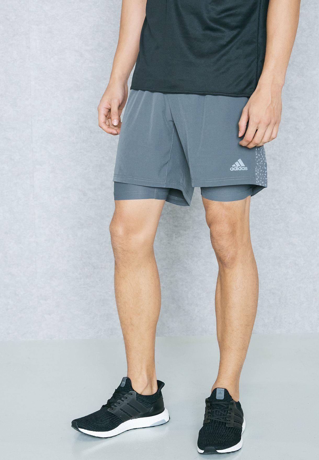 adidas supernova dual shorts