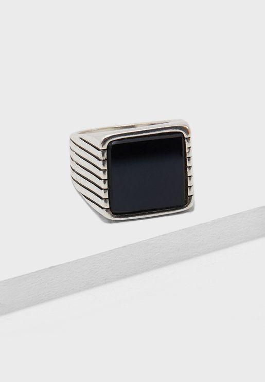 Alpha Signet Ring
