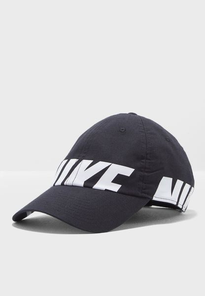 Shop Nike black Heritage 86 Cap 890076-010 for Women in Globally -  NI727AC79RDG