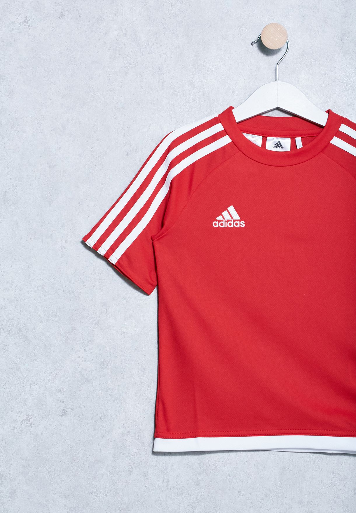 Shop adidas red Youth Estro 15 Jersey S16149 for Kids in Qatar ... 74cb996d67612