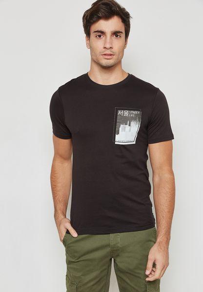 Stuart Printed T-Shirt