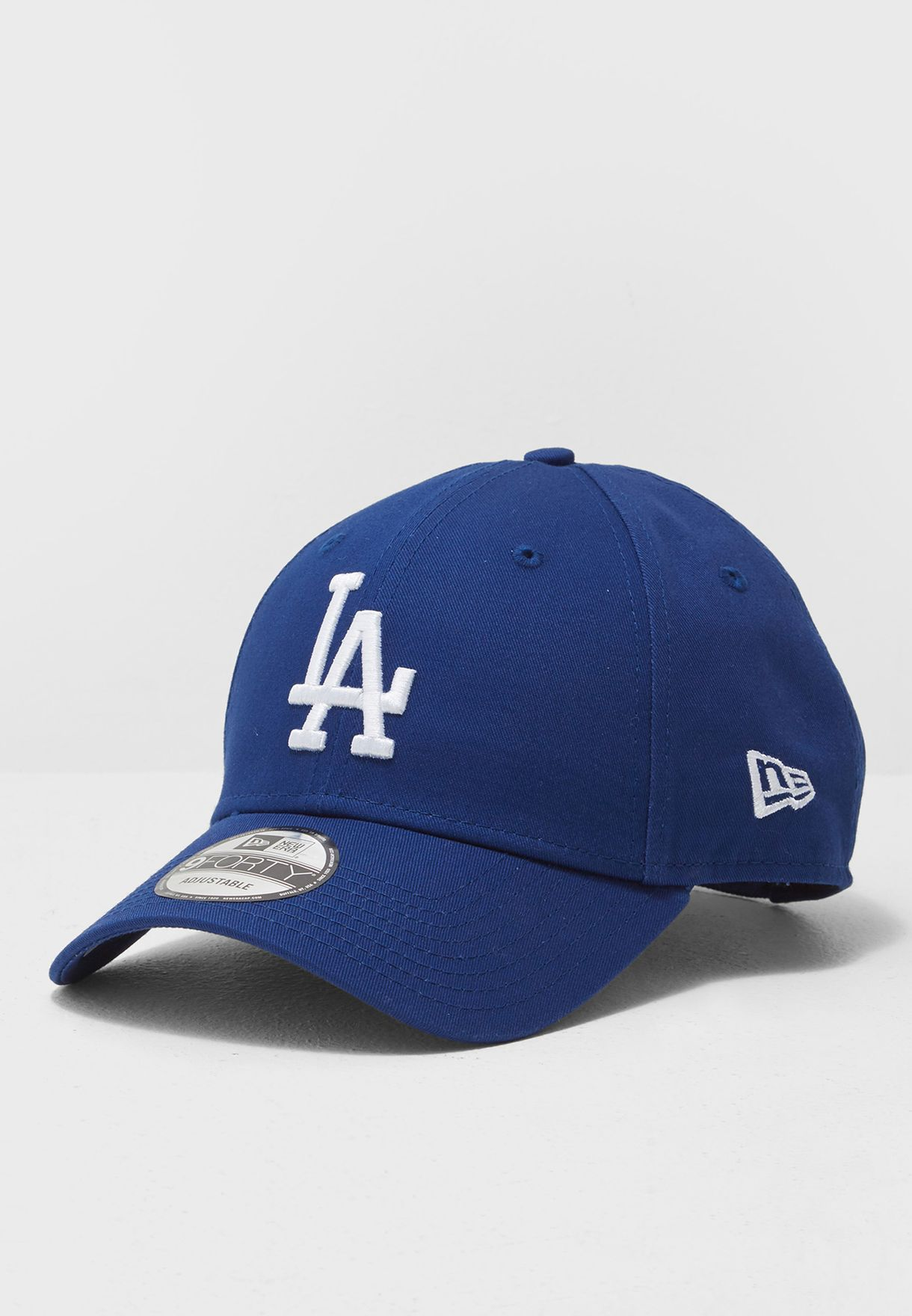 Shop New Era blue 9Forty Los Angeles Dodgers Cap 11405492 for Men in ... e0b7139bbd99