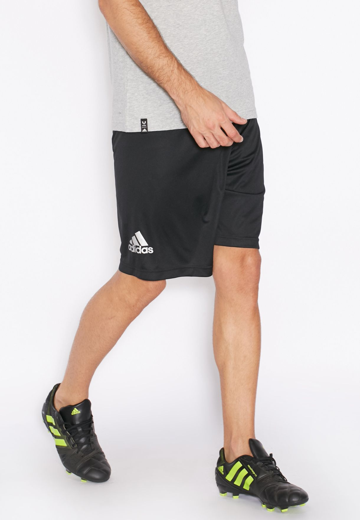 1d1eb608 Shop adidas black Messi Shorts AZ1851 for Men in UAE - AD476AT79OPG