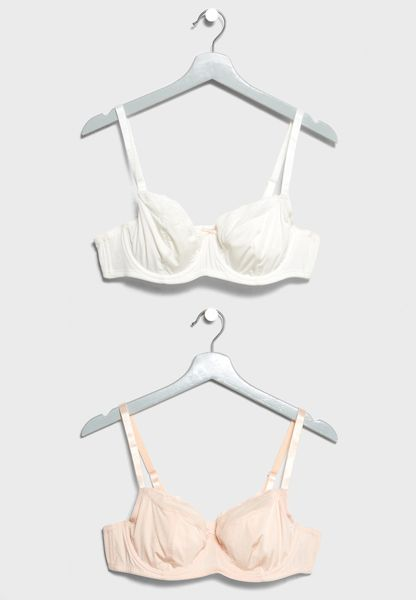 2 Pack Push Up Bras