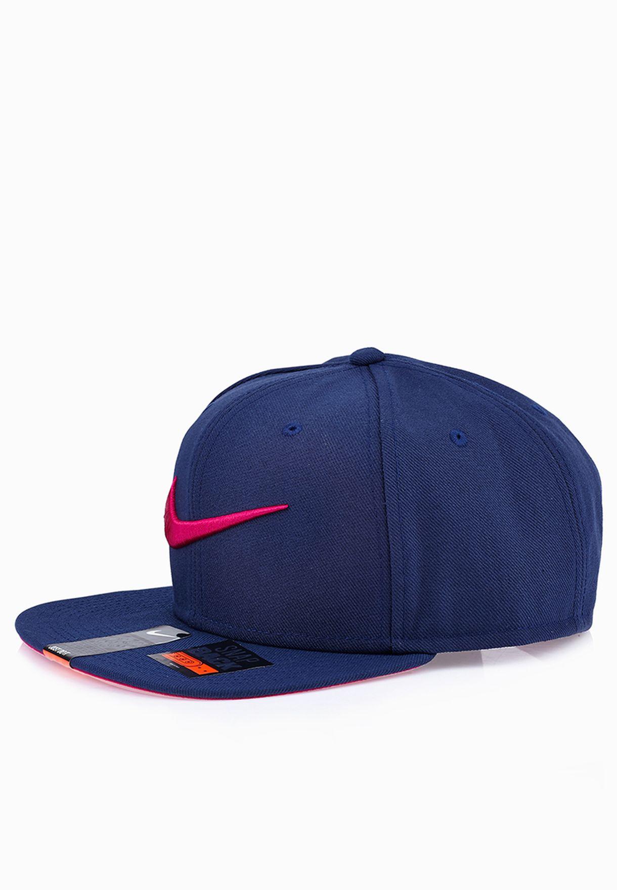 b1e6a0d255b Shop Nike blue Swoosh Pro Snapback Cap 639534-411 for Men in Kuwait -  NI727AC79FIA