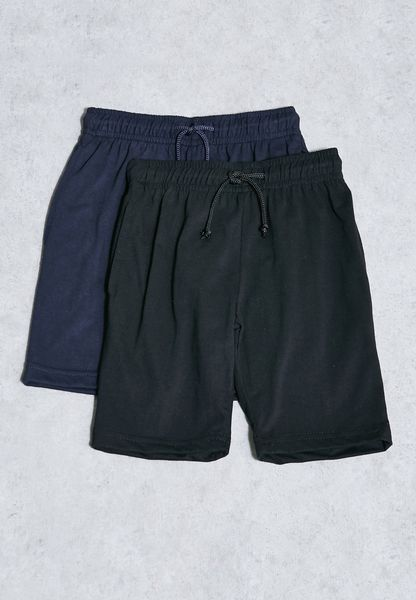 Kids 2 Pack Shorts