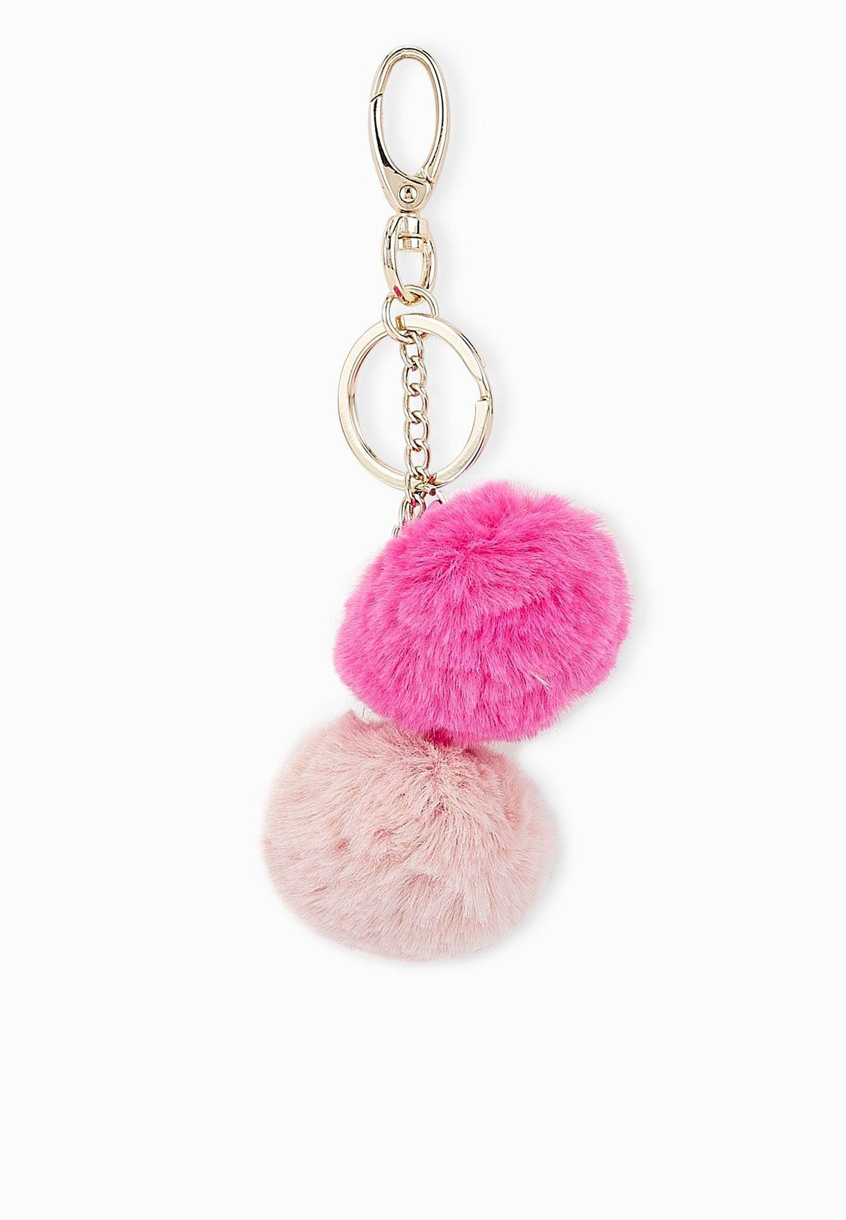 Shop Ginger multicolor Small Pom Pom Key Ring for Women in Qatar -  GI121AC79EGA 0d8d636e58