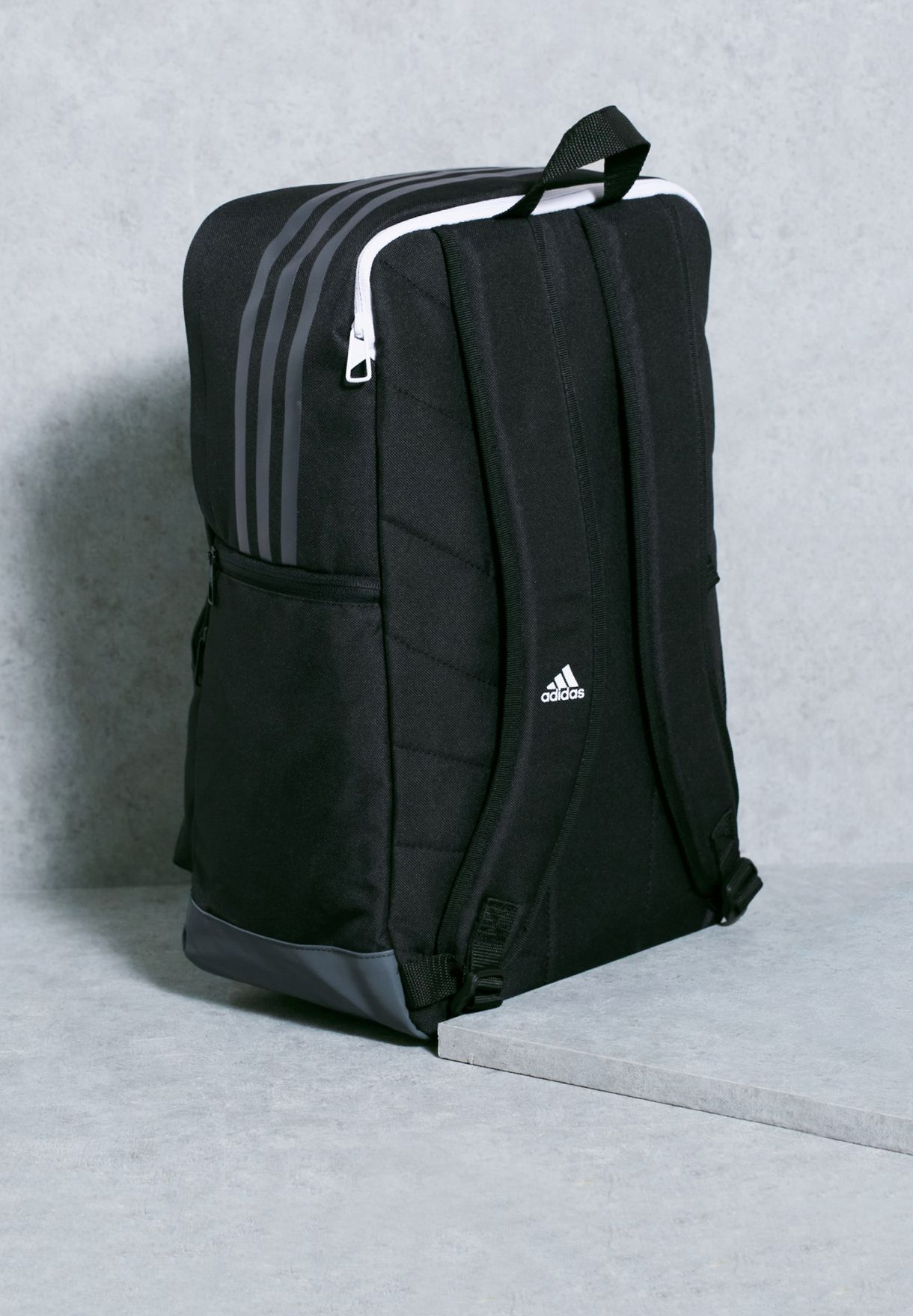 4f40611b80dd Shop adidas black Tiro Backpack S98393 for Men in Oman ...