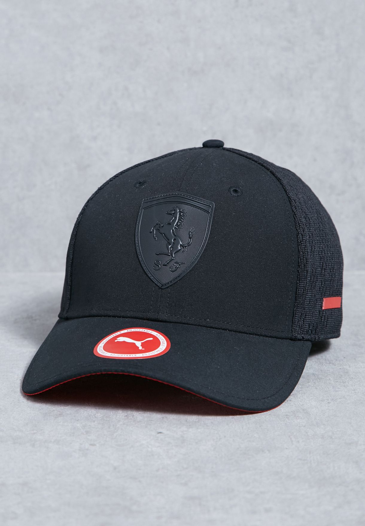 Shop PUMA black Ferrari Scorpion Cap 02119101 for Men in UAE ... 8119ea83b2a9