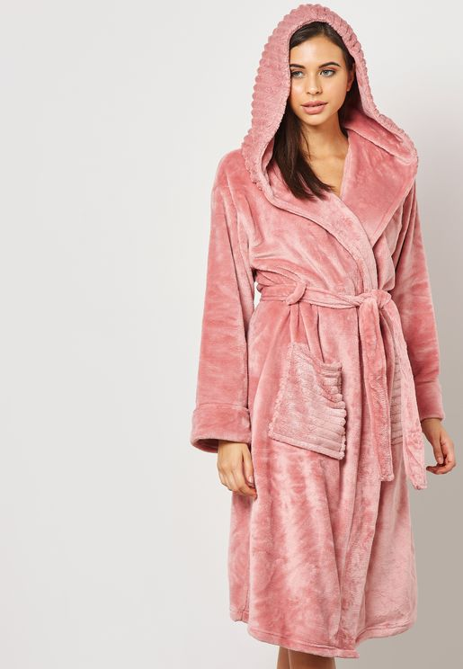 Sparkle Hooded Robe
