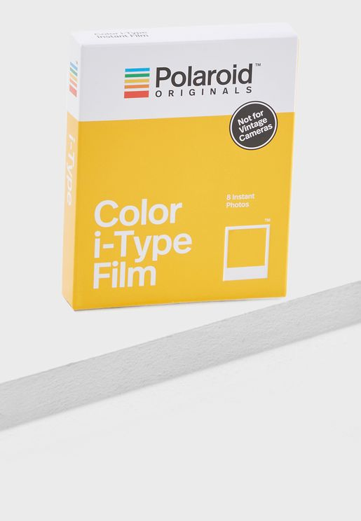 Polaroid Color Film Pack Of 8