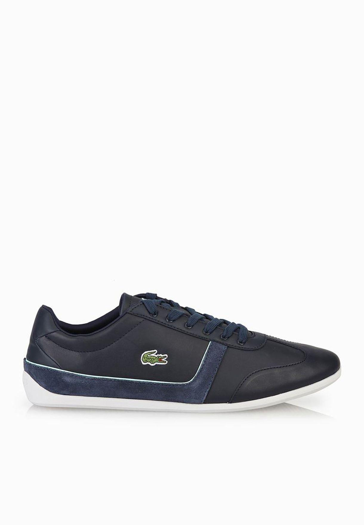 302c13241 Shop Lacoste blue Missano Sport TRC Sneakers 30SPW0015-DB4 for Women ...