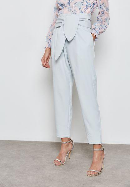 Tie Front Pants