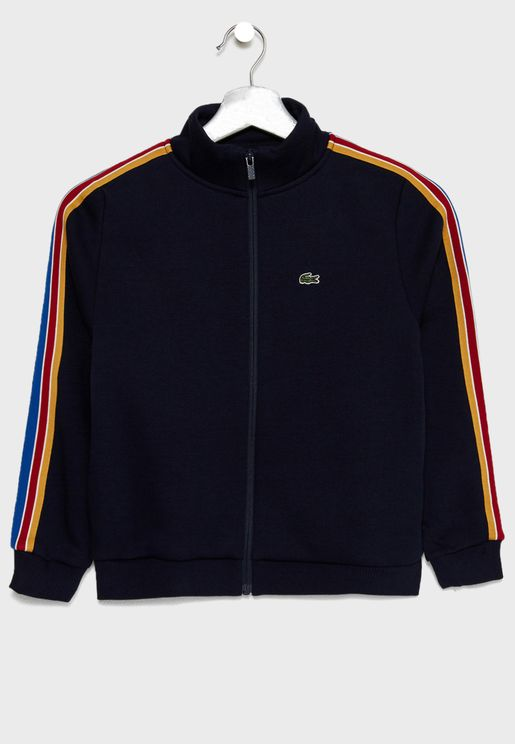Kids Side Striped Track Jacket