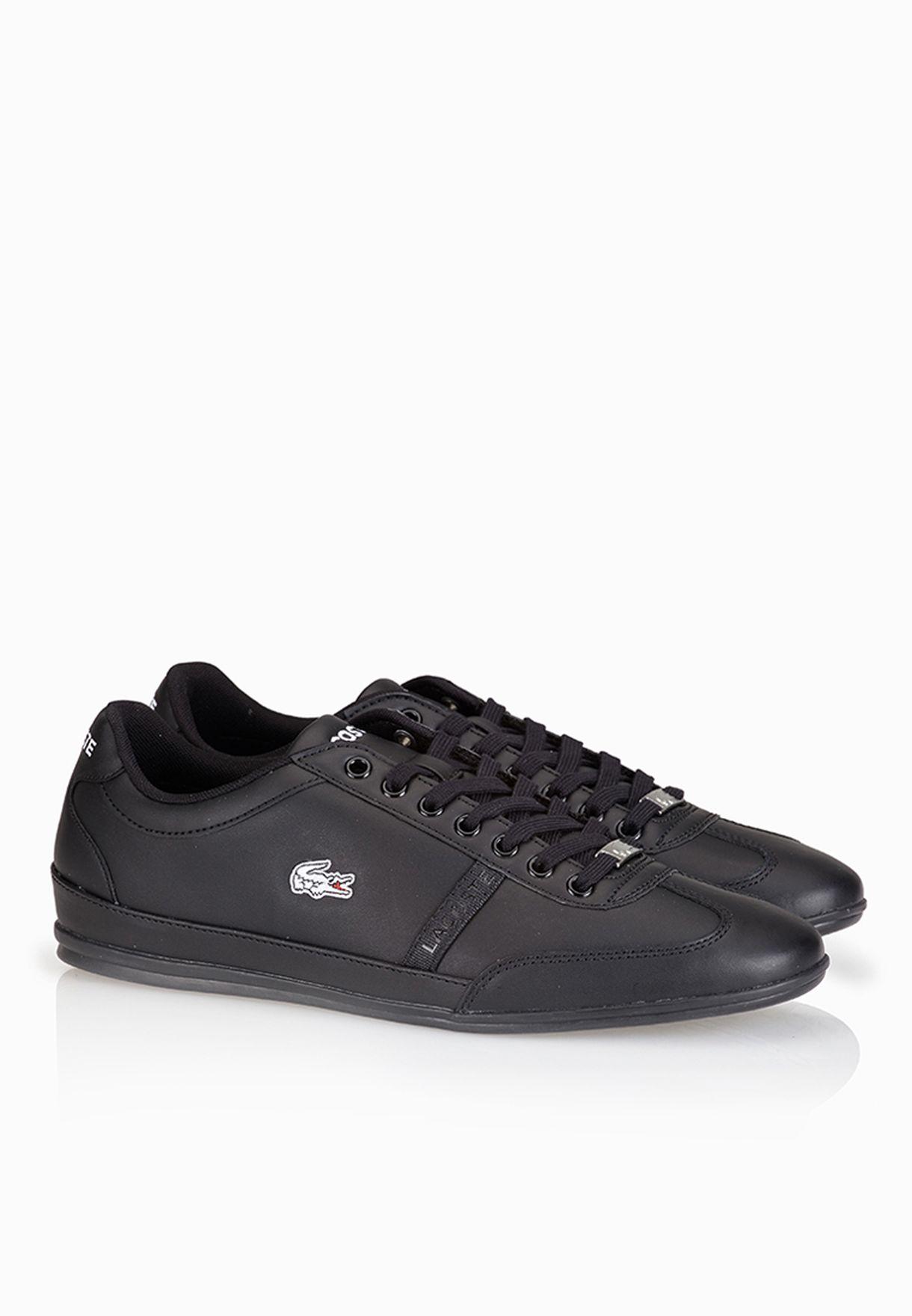 b1f2c6a38 Shop Lacoste black Misano Sport SCY Sneakers 29SPM0040-02H for Men ...