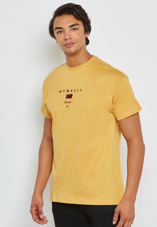Montreal Flag Crew Neck T-Shirt
