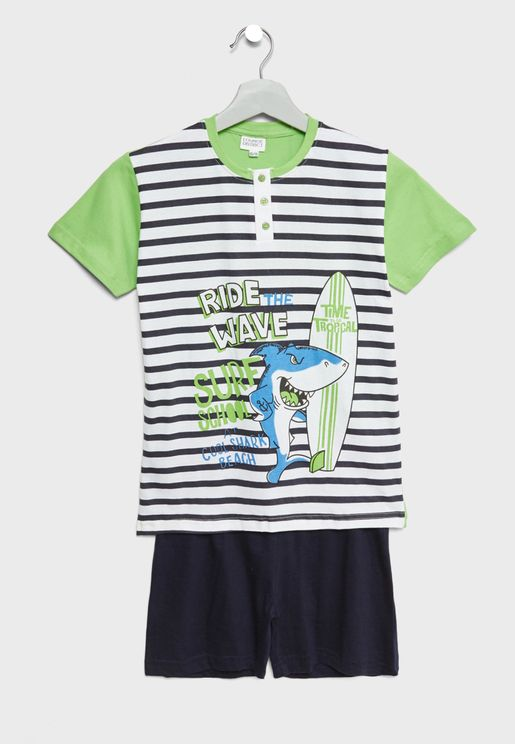 Little T-Shirt + Shorts Set