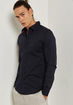 """قميص """"ألفريدو"""" بأكمام طويلة"""