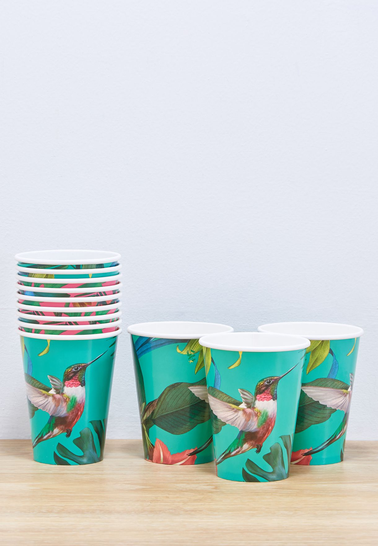 Tropical Fiesta Bright  Large Paper Cup 120Z