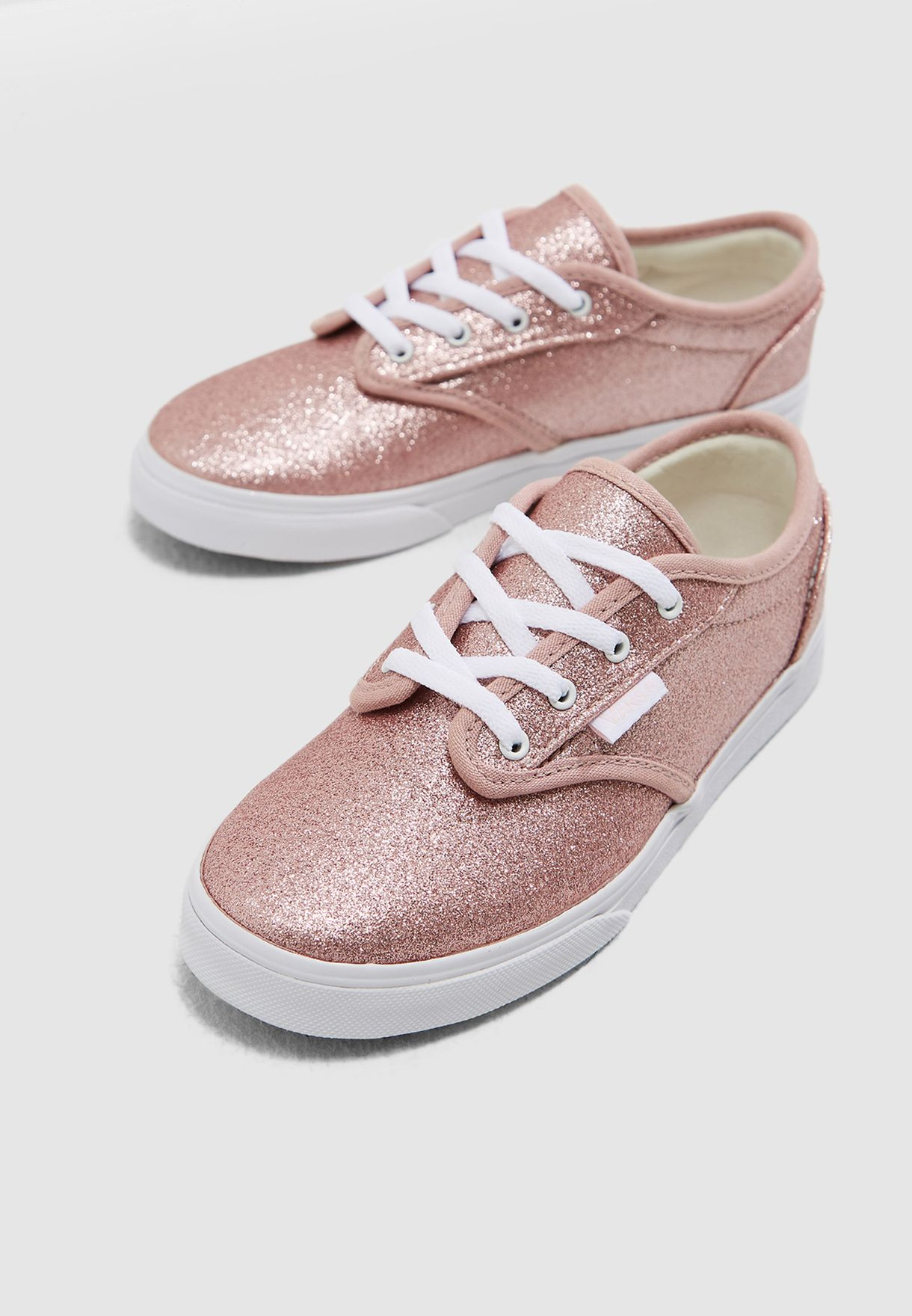 ee21c8c1fd5a17 Shop Vans pink Youth GlitterMY Atwood Low 8DUU33 for Kids in UAE ...