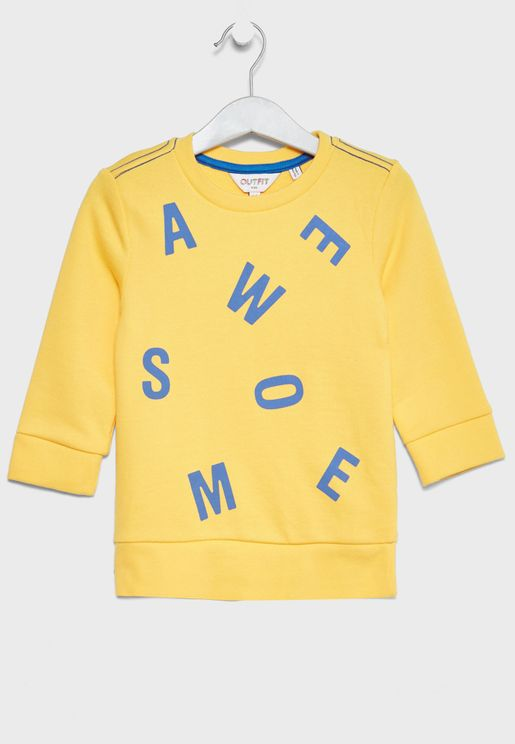 Infant Awesome Sweatshirt