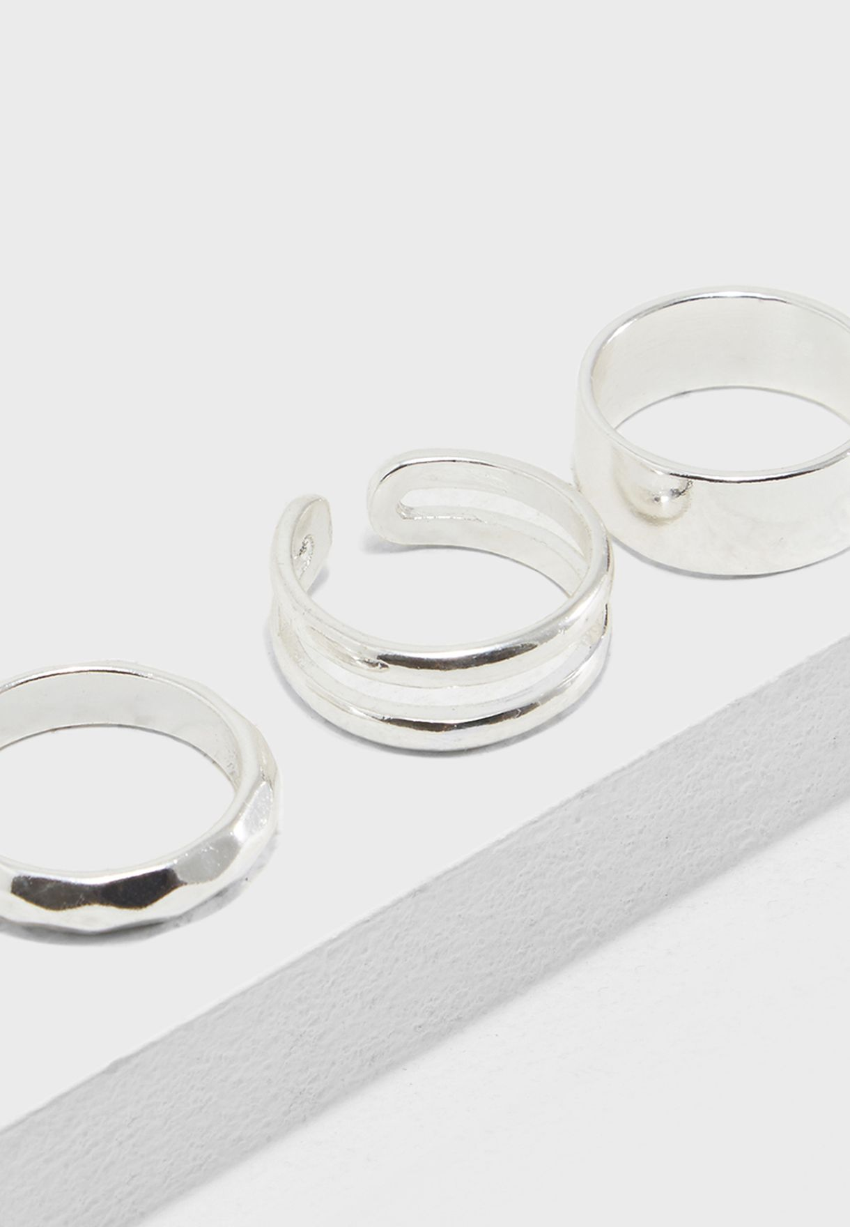 Multipack Of Trifector Rings