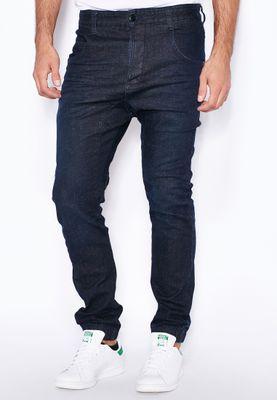 Humor Caton Cuffed Skinny Fit Dark Wash Jeans