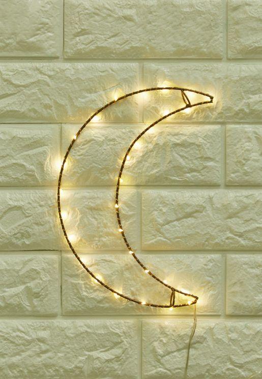 Crescent Moon Wall Light