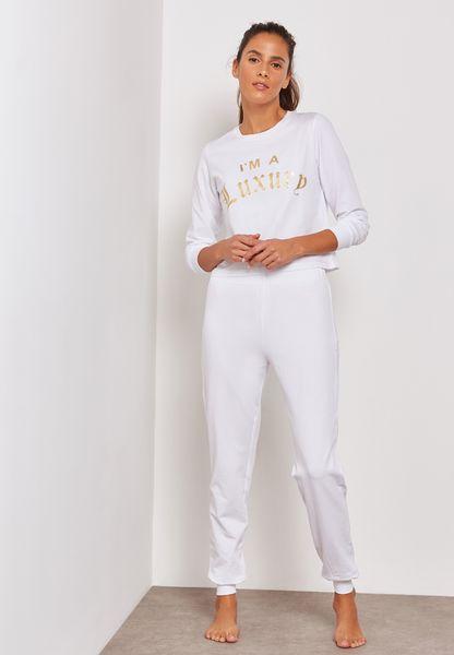 Lace Up Pyjama Shorts Set