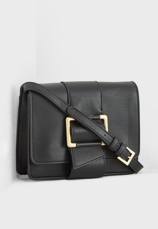 Buckle Accent Crossbody
