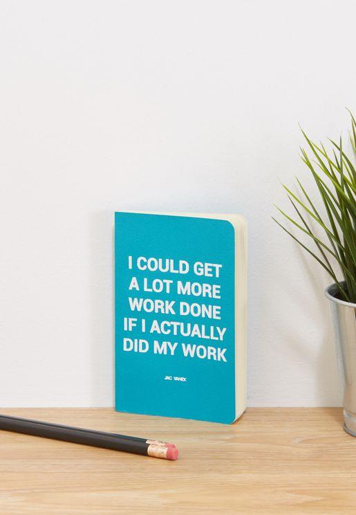 Mini Do Work Notebook