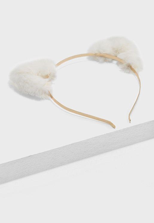 Cute Fur Cat Ear Headband