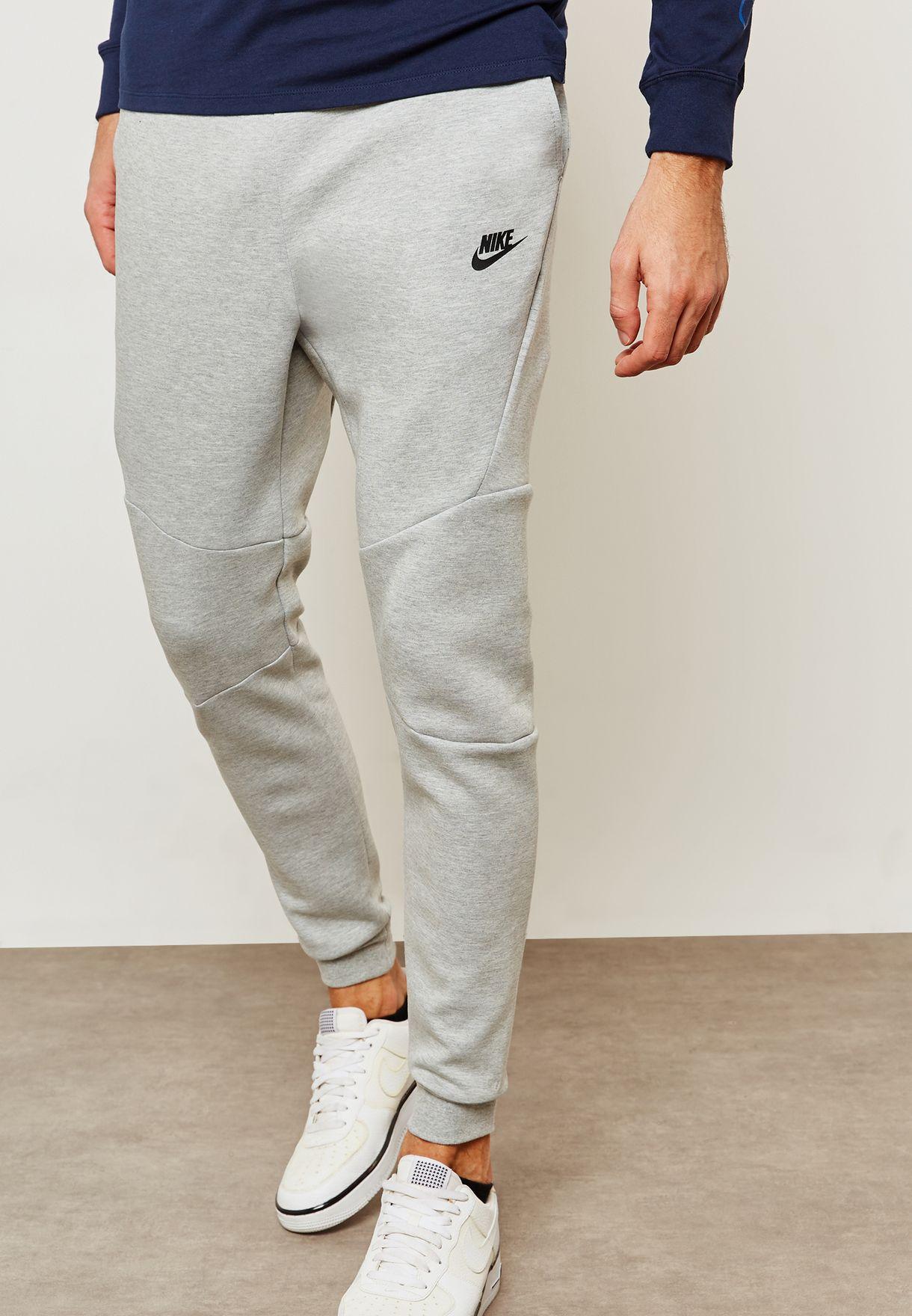 2226cd65bb9b Shop Nike grey Tech Fleece Sweatpants 805162-063 for Men in Oman -  NI727AT69LVA